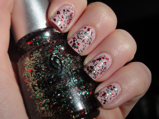 China Glaze Something Sweet with Party Hearty