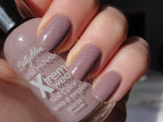 Sally Hansen Concrete