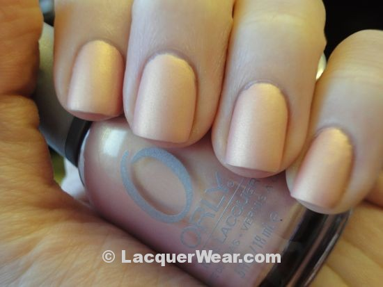 Orly Gilded Coral Matte