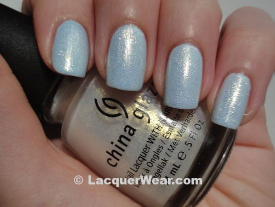 Essie Borrowed & Blue, China Glaze Whitecap