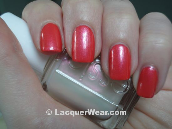 Essie Tangerine, Kisses and Bises