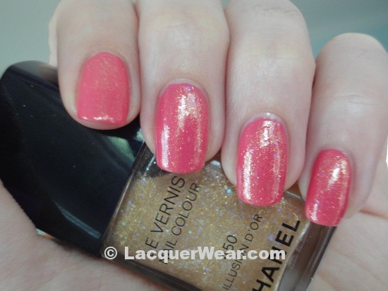 Chanel Rose Insolent, Illusion d'Or