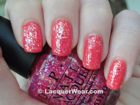 Essie California Coral, OPI I Lily Love You