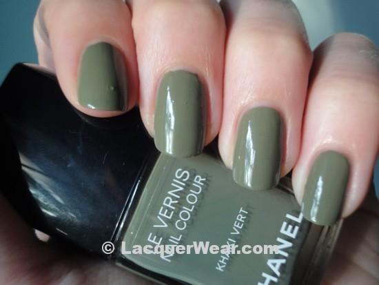 Chanel Khaki Vert