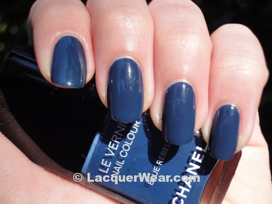 Chanel Blue Rebel