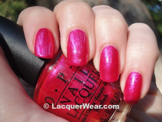 OPI Be A Dahlia Won't You