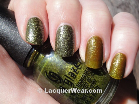 China Glaze It's Alive, Zombie Zest