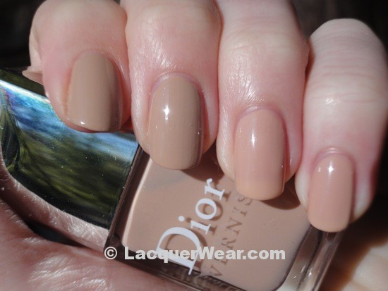 Essie Brooch the Subject, Dior Safari Beige