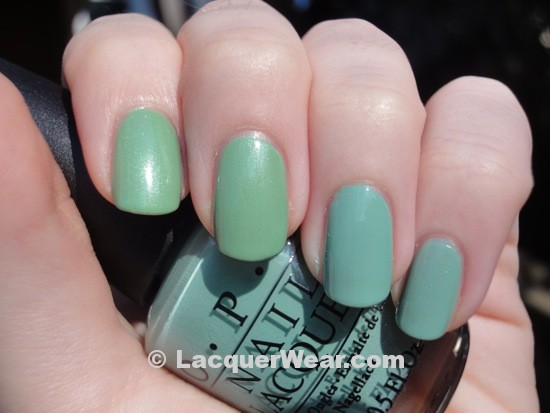 Dior Waterlily, OPI Mermaid's Tears