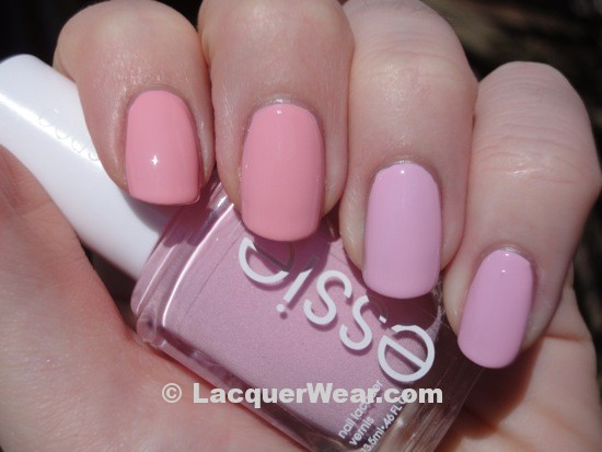 OPI Pink Friday, Essie French Affair