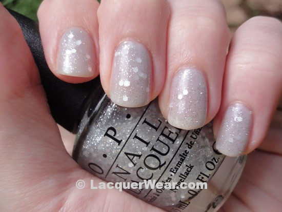 OPI My Pointe Exactly, Pirouette My Whistle