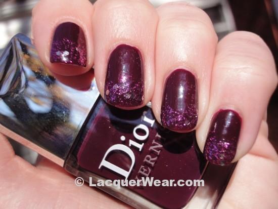 Dior Orchid w: OPI Divine Swine