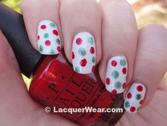 OPI The Spy Who Loved Me (dots!)