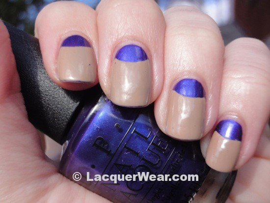 OPI Tomorrow Never Dies w/ Dior Grege